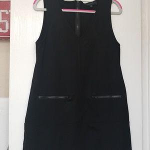 Sanctuary black stretchy dress